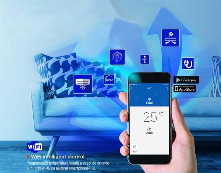 control inteligent wi-fi soyal